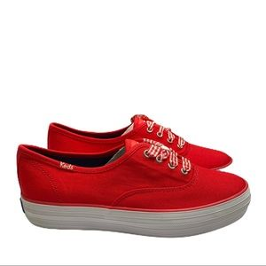Keds Champion Triple High Risk Red